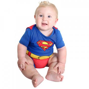 Fantasia Baby Body Verão Super Homem - Sulamericana