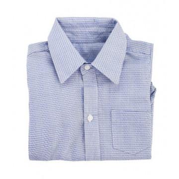 Body Camisa Listrado Azul - Roana