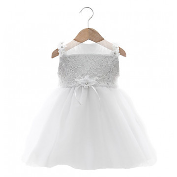 Vestido Bianca Branco - Beth Bebê