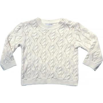 Sweater Baby e Kids Aran Tranças - Noruega