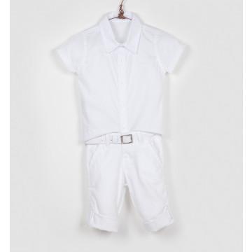 Conjunto Baby Calça e Camisa - Two Angels
