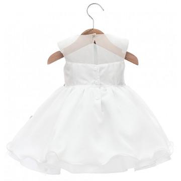 Vestido Heloisa Branco - Beth Bebe