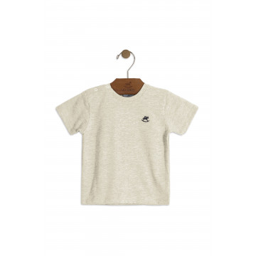 Camiseta Meia Malha Mescla - Up Baby