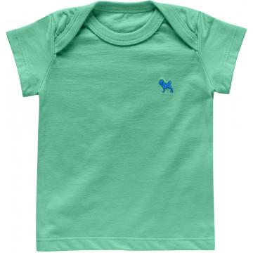 Camiseta Básica Verde Baby - Charpey
