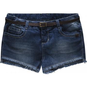 Short Jeans com Cinto - Charpey